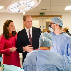 Copyright 2018 Mike Sewell (tel: 07966 417114) TRH The Duke and Duchess of Cambridge at the opening of the Science and Health Building at Coventry University.